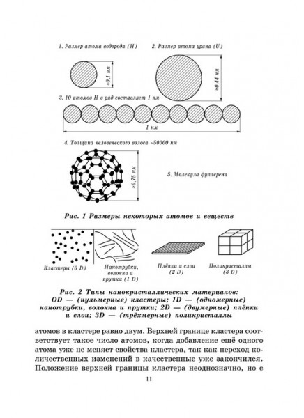 Свойства и применение наноматериалов